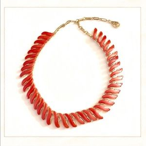 Vintage Red Thermoset Choker Necklace